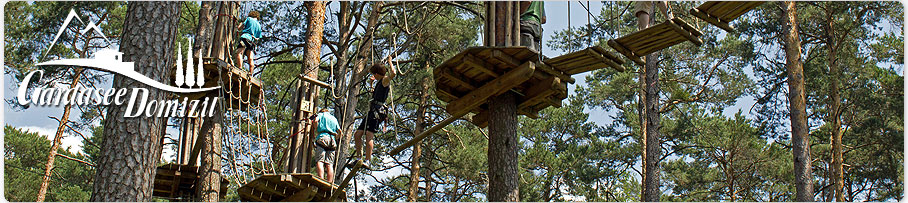 Jungle Adventure Park, Kletterpark, Gardasee